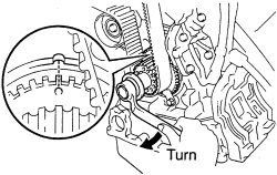 schematics and diagrams: How to remove timing belt and