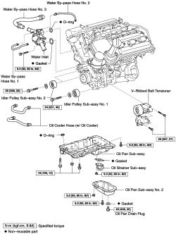 HowToRepairGuide.com: 1gr-FE Engine Right Side Cylinder