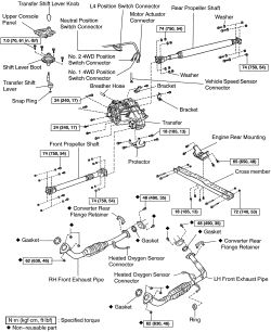 | Repair Guides | Transfer Case | Transfer Case Removal
