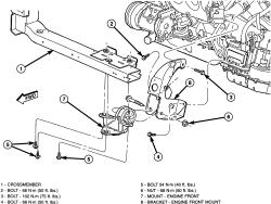 2005 Dodge Grand Caravan: replacing..liter engine..of the