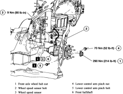 How do you replace the alternator in a 2003 Ford Escape 3.0L
