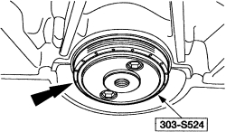 2000 Ford ranger rear main seal