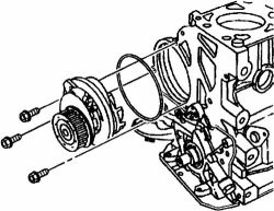 Chevrolet Aveo: I AM REPLACING THE TIMING BELT AND WATER PUMP