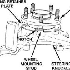 Pt Cruiser Front Suspension Diagram Inflatable Origami | Repair Guides Wheel Bearings Autozone.com