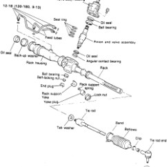 2000 Hyundai Elantra Engine Diagram Mtd Yardman Wiring | Repair Guides Power Rack & Pinion Steering Gear Removal Installation Autozone.com