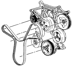 ford focus serpentine belt diagram massey ferguson 135 gearbox | repair guides engine mechanical components accessory drive belts autozone.com