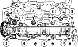 Ford repair professionals: Cylinder head removal on ford