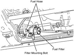   Repair Guides   Fuel Filter   Removal & Installation   AutoZone