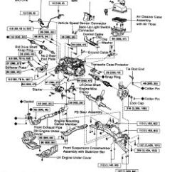 2004 Toyota Camry Exhaust System Diagram 4l60e Wiring Harness | Repair Guides Manual Transaxle Removal & Installation Autozone.com