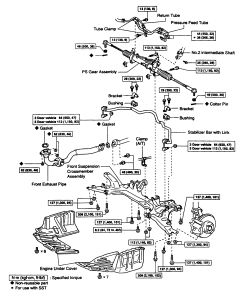 ford rack and pinion diagram rheem heat pump wiring repair guides power steering gear removal click image to see an enlarged view fig