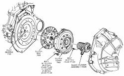 Ford F350 Pickup Super Cab: clutch pedal wont return, I