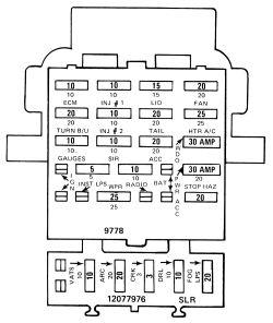 1983 Camaro Fuse Box Diagram 89 camaro starter wiring