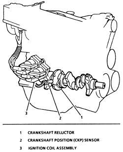 1999 Lexus Es300 Crankshaft Sensor, 1999, Free Engine