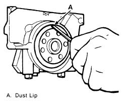 Engine Rear Seal Oil Leak Main Engine Seal Leak Wiring