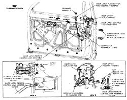 Ford Explorer Door Latch Diagram. Ford. Wiring Diagram Images