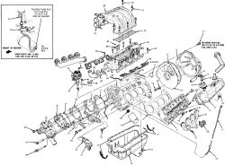 Carbureted Ford 302 Engine Diagram. Ford. Auto Wiring Diagram