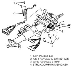 700r4 transmission lock up wiring diagram lpg switch | repair guides steering ignition autozone.com