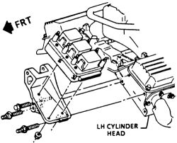 schematics and diagrams: Ignition Module removal and
