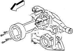 1997 Ford explorer idler pulley bolt