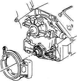 Buick: Hi, How to change the timing cover gasket for 1997