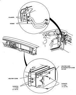 Service manual [1994 Buick Park Avenue Blend Door Removal
