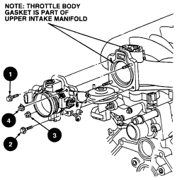 HowToRepairGuide.com: How to replace Throttle body on Ford