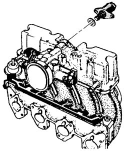 schematics and diagrams: GMC Idle Air Control (IAC) Valve