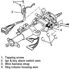 2001 S10 Brake Light Wiring Diagram Molecular Orbital For He2 | Repair Guides Steering Ignition Switch Autozone.com
