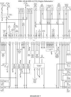 Mazda 323 Protege Stereo Wiring Diagram