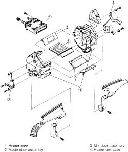 Wiring Diagram Air Conditioner 93 Mazda 626 Auto Electrical Wiring