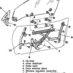 2002 Mitsubishi Galant Engine Diagram Marine Wiring Diagrams | Repair Guides Interior Door Glass & Regulator Autozone.com