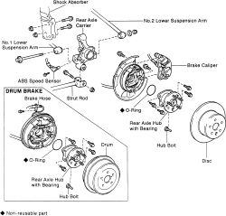 | Repair Guides | Rear Suspension | Hub & Carrier | AutoZone