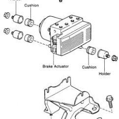 1996 Toyota Corolla Engine Diagram One Line Electrical Riser | Repair Guides Anti-lock Brake System Actuator Autozone.com