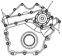 Service manual [2007 Chevrolet Monte Carlo Water Pump