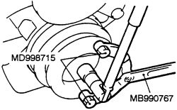 2001 Mitsubishi Montero Sport ES: timing belt..the