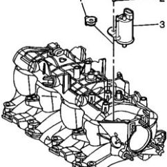 2005 Chevy Equinox Egr Wiring Diagram Wirediagram Mercury 225 Optimax 1998 Ford Escort 2.0l Fi Sohc 4cyl | Repair Guides Engine Mechanical Components Intake ...