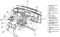Replace Heater core on 2000 mercury marquis ~ Your Owner