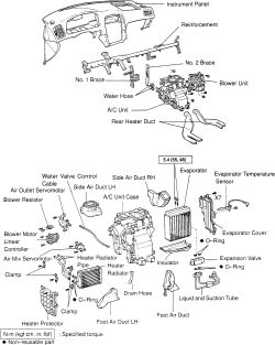 Service manual [2001 Lexus Gs How To Remove Heater Core