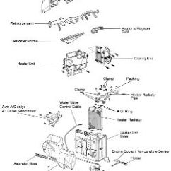 1996 Toyota Tacoma Parts Diagram Exposition Plot   Repair Guides Heater Core Removal & Installation Autozone.com