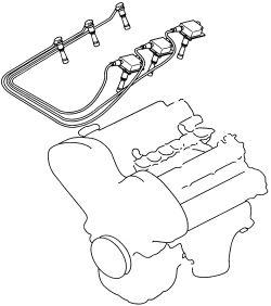 2004 Kia Amanti Spark Plugs, 2004, Free Engine Image For