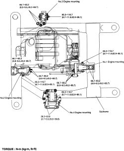 ENGINE REMOVAL & INSTALLATION 2003 kia sedona ~Owner Pdf