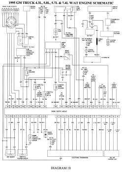 Wiring Diagram For 94 Chevy Silverado 1988 chevy truck