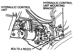 Service manual [Repair Anti Lock Braking 1996 Ford Ranger
