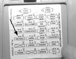 radio wiring diagram for 2003 chevy silverado winged swan 3d origami 1993 toyota truck pickup 4wd 3.0l mfi 6cyl | repair guides supplemental inflatable restraint ...