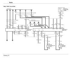 Mustang Mach 460 Wiring Diagram Ford Radio Wiring Diagram