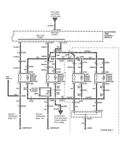 | Repair Guides | Power Door Locks (2000) | Power Door Lock Wiring Diagram & Troubleshooting