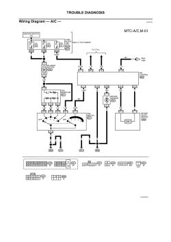 2003 Nissan Frontier Air Conditioning Diagram Wiring