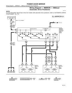 Odyssey Fuse Diagram Repair Guides Electrical System 2001 Power Door