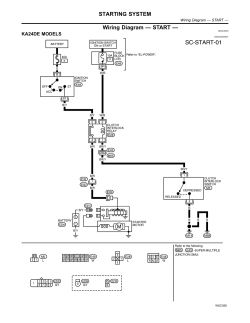 2003 Nissan Xterra Air Conditioner Wiring Diagram