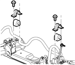 2005 chevy equinox suspension diagram labelled of water cycle repair guides front stabilizer bar sway links click image to see an enlarged view